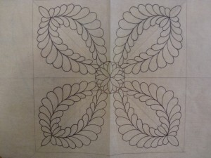 Veren tekenen - detail