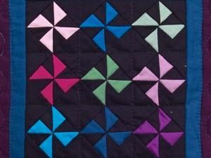 35 pinwheel block