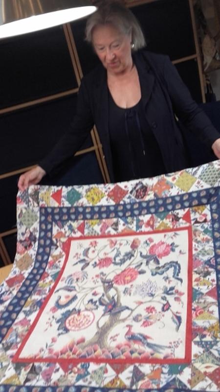 Ria quilt voor Anouk